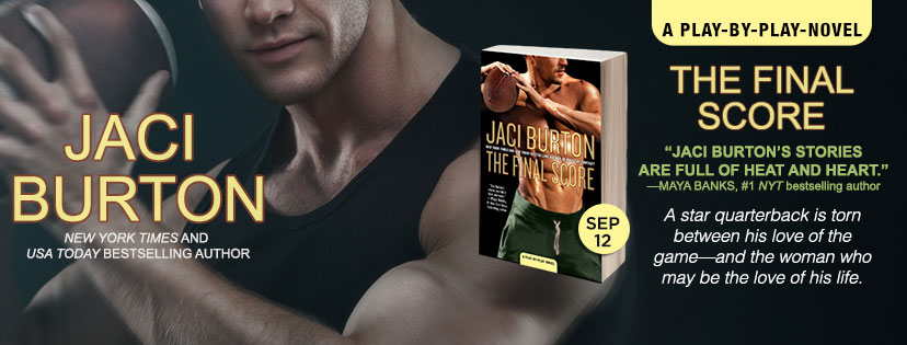 THE FINAL SCORE - A Jaci Burton Review & Giveaway